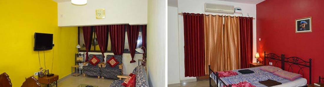 1/2 BHK apartment calangute goa
