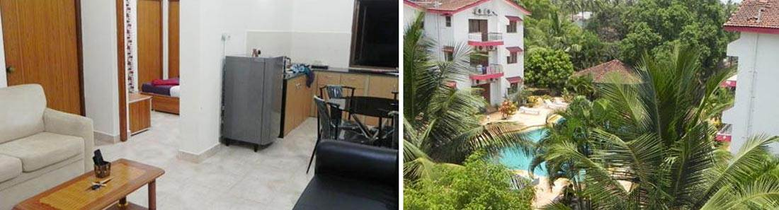1BHK apartment arpora goa