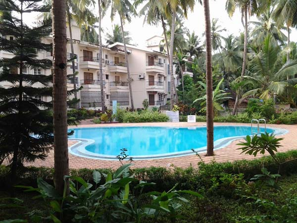 studio apartment calangute goa